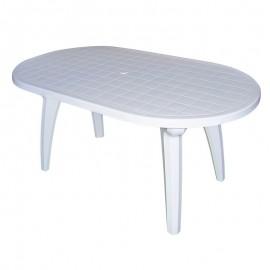 mesa ovalada reforzada